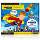 lichStyle 1 face - Kids Superhero - Alien attack