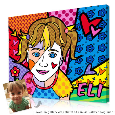 Personalized Pop Art Photo | Cubism-pop Portrait