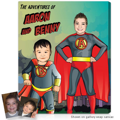 Personalized Pop Art Photo | Superhero™
