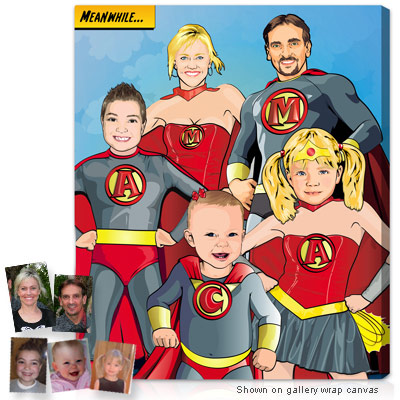 Personalized Pop Art Photo   Superhero™