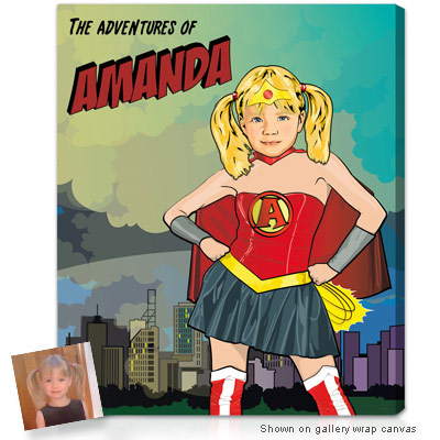 Personalized Pop Art Photo | Superhero�
