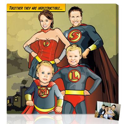 Personalized Pop Art Photo | Superhero™