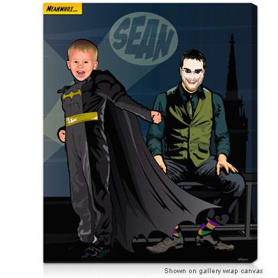 Personalized Pop Art Photo | Bat Heroes™
