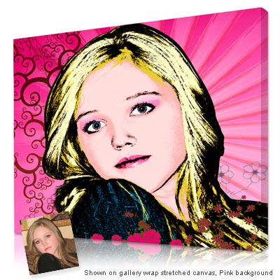 Personalized Pop Art Photo | Sunny Spring