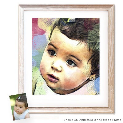 Personalized Pop Art Photo | Watercolor Sketch�