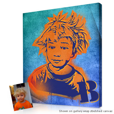 Personalized Pop Art Photo | Graffiti style� artwork