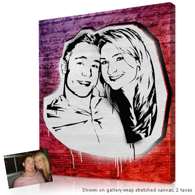 Personalized Pop Art Photo | Graffiti style™ artwork