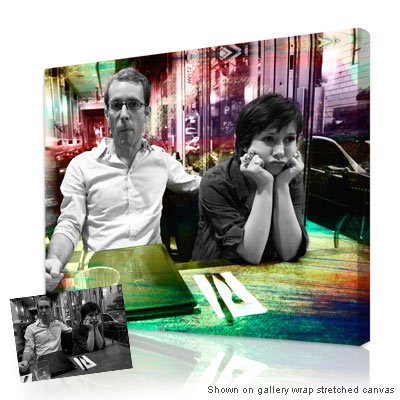 Personalized Pop Art Photo | Artist Touch� - Photo to Canvas