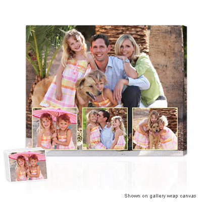 Personalized Pop Art Photo | Photo Collage on Canvas