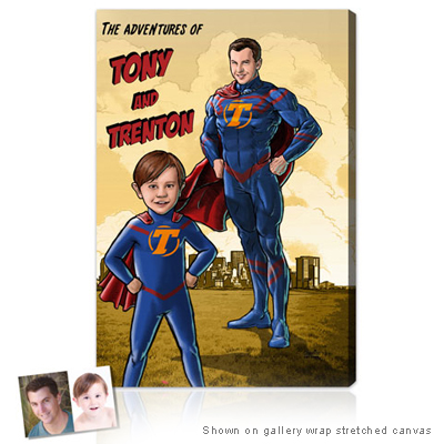 Personalized Pop Art Photo | Superhero™ - Series II