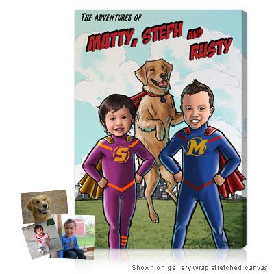 Personalized Pop Art Photo | Superhero™ - Series II