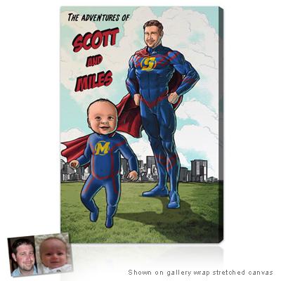 Personalized Pop Art Photo   Superhero™ - Series II