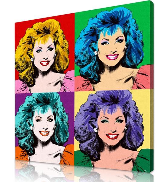 Warhol style Custom Pop Art Portraits