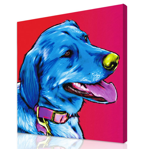 Pet Paintings from Your Dog or Cat Photos