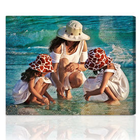 Artist Touch™ custom photo gift 10x16 inches, on stretched canvas