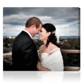 Photo to canvas gifts 20x24 inches on stretched canvas