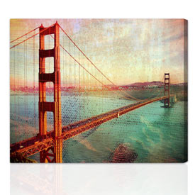 Artist Touch™ custom photo gift 16x24 inches, on stretched canvas