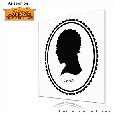 Personalized Pop Art Photo | Silhouette