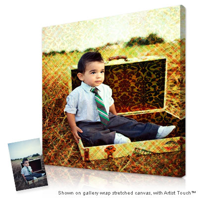 Personalized Pop Art Photo | photo to canvas™ - 1 panel