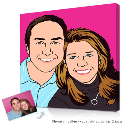 Personalized Pop Art Photo | iconographicStyle 1 panel