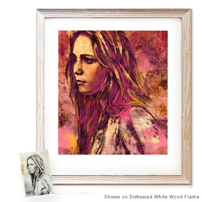 Personalized Pop Art Photo | Watercolor Sketch™