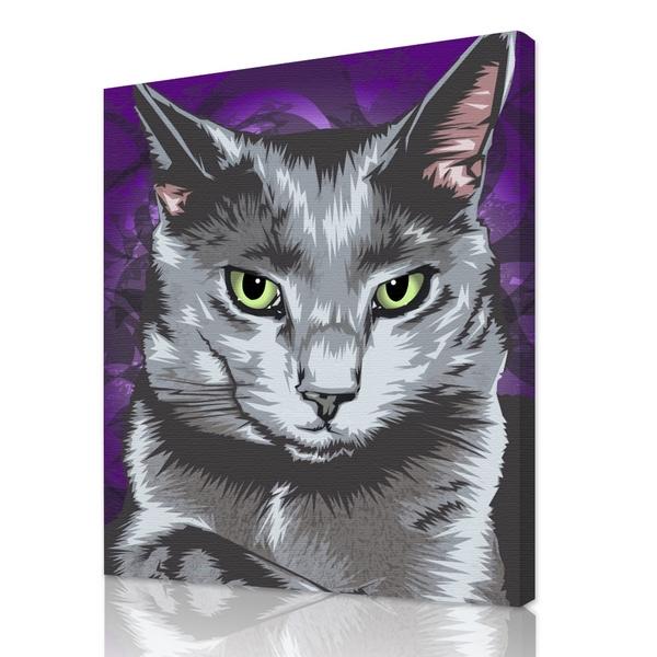 cat portraits cat paintings